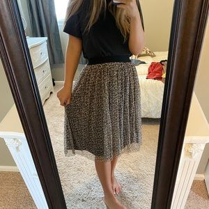 Target Cheetah Skirt